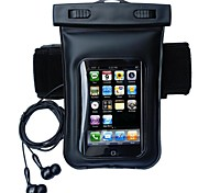 Waterproof Diving Armband with Headphone Audio  for iPhone 6