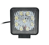 27W Punto 9-Epistar LED de luz de la lámpara de trabajo LED Light Bar Offroad Car Bar Square