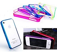 Ultra Thin PC Bumper Case for iPhone 4/4S