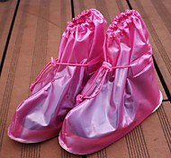 engrossar multicolor design de plástico à prova d'água bonito com tampas da sapata de borracha (x1pcs randomcolor)