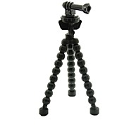 GP201 Universal Portable Stand Holder Octopus Tripod with Screw for Gopro Hero 2 / 3 / 3+ / Digital Camera