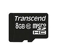 Transcend TS32GUSDHC10 MicroSDHC Memory Card - Black (8GB / Class 10)