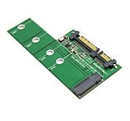 """Altezza basso profilo metà mgff mini PCI-e 2 corsie M.2 SSD a 2,5 """"22pin sata disco rigido PCBA"""