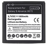 1800mAh Lithium-ion Battery for Samsung Galaxy S Advance i9070