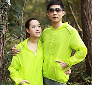 Blook Outdoor Unisex Transparent and Thin Windbreaker