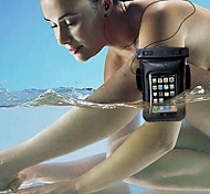 Universal Armband Waterproof Bag Case+Clear LCD Protector+ Headphone Audio Cable for  iPhone 3/ 4/4S 5/5S/5C
