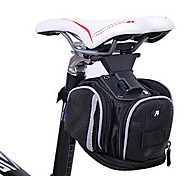 NUCKILY Black 1680D Oxford Bicycle Seat Tail Bag Cycling Saddle Bag