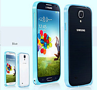Toophone ® JOYLAND Exquisite Metall-Bump-Rahmen für Samsung i9500 S4 (Farbe sortiert)