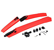 YELVQI High-End-Rubber Red Mountain Bike Fender