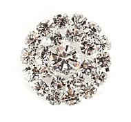Full Rhinestone Flower DIY Charms Pendants for Bracelet & Necklace