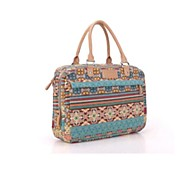 "Bohemian Trend Canvas Ladies Women Handbag Laptop  Messenger 14"" Notebook Computer Bags"