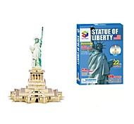 3D Puzzle la statua della Libertà puzzle magici per bambini e giocattoli educativi per adulti (22pcs)