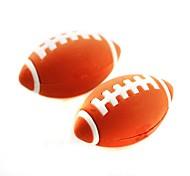 gomme en forme de football amovible mignon (couleur aléatoire x 2 pcs)