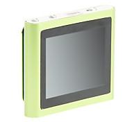 """topo 1.8 """"multi-touch rádio fm tela clip-on 8gb mp4 player (verde)"""