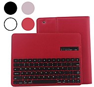 Detachable Protective Leather Wireless Bluetooth Keyboard Cover Case for iPad 2/3/4 (Assorted Colors)