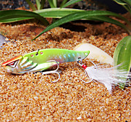 Fishing Bait 60MM/15G Colorful Fishing Lure Pack with Feather Hooks
