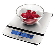 LCD Electronic Kitchen Scale with Stainless Steel Flat Plate