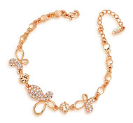 Gorgeous Fashion Jewelry Alloy with  Rhinestone  Bracelet  (one piece)
