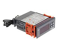 "hf 1.8 ""controlador de temperatura termostato digital lcd - gris + naranja + negro (24v)"