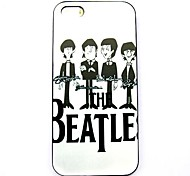 The Beatles Pattern Hard Case for iPhone 5/5S