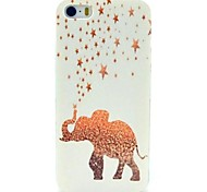 Golden Stars & Elephant Case for iPhone 4/4S