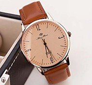 Women's Fashion Noble Simple Leather Casual Watches