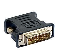 altíssima velocidade DVI macho para VGA fêmea adaptadores negros