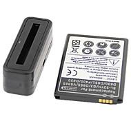 batteries haute capacité 3500mAh 3.8V de batteries et chargeur pour LG g3