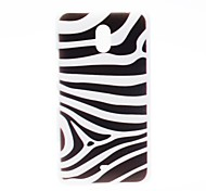 Kinston Zebra Pattern Plastic Hard Case for Nokia Lumia 1320