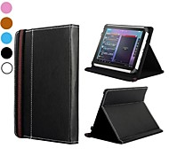 Folio Style Flip Stand Leather Case with Safety Belt  for 7 Inch All Tablet PC(Assorted Colors)