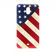 Kinston Nostalgic USA Pattern Plastic Hard Case for Nokia Lumia 1320