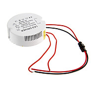 0.3A 31-36W DC 90-140V to AC 85-265V Circular External Constant Current Power Supply Driver for LED Ceiling Lamp