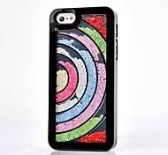 Luxus Strass Halbkreis Regenbogen Hülle für iPhone 4 / 4S (verschiedene Farben)