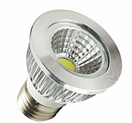 5W E26/E27 Focos LED MR16 1 LED de Alta Potencia 350-400 lm Blanco Natural AC 100-240 V