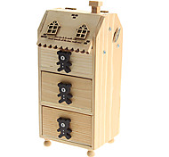 glücklich Bär geformten Federbehälter Spieluhr Spielzeug