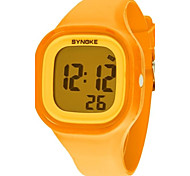 Women's Dress Watch Fashion Watch Digital Watch Wrist watch Quartz Digital Silicone Band Orange