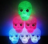 Skull EVA Crystal Color-changing Night Light