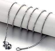 Men and Women General High Quality Titanium Steel Necklaces