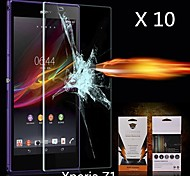 Ultimate Shock Absorption Screen Protector for Sony-Ericsson L39h Xperia Z1 (10PCS)