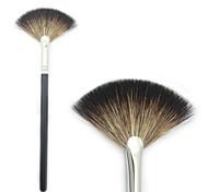 Small Fan Brush  Makeup Face Brush