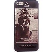 Tiger and Soda Design Aluminum Hard Case for iPhone 4/4S