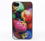 Colorful Balls Style Protective Back Case for iPhone 4/4S