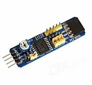 Waveshare RPI PCF8591 AD / DA Converter Board Module w/ I2C/AD for Raspberry Pi - Blue