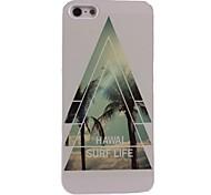 estuche rígido de aluminio de la vida de surf Hawal para el iphone 4 / 4s
