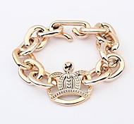 Bracelet Chaîne Acrylique Sans pierre Femme