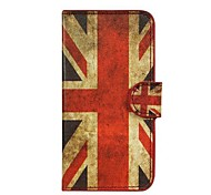 UK Flag Pattern PU Leather with Stand and Card Slot Case Cover for Huawei Y530