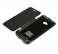 Rechargeable Backup Battery Case for HTC One/ M7(3800mAh, Black)