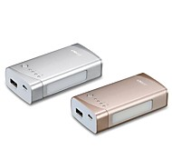 f&d lunar 5200mAh p1 bateria externa para dispositivos móveis