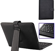 Tablet Keyboard Leather Case with Holder,Data Cable,Touch Pen for Ultrathin 8 inch