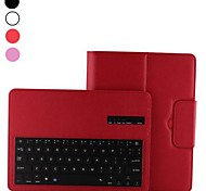 Detachable Bluetooth Keyboard Magnetic Flip Stand Leather Case for Samsung Galaxy Tab S T800(Assorted Colors)